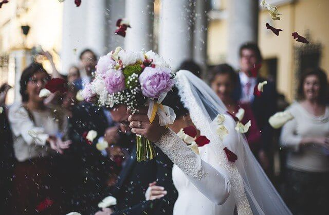 חתונת חורף במקום סגור